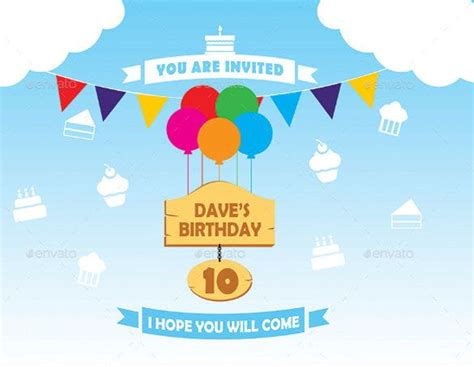 12+ Post Card Birthday Invitations Free PSD Vector EPS