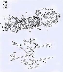 Toyota W56 Transmission Illustrated Parts Drawings