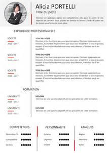 Des Cv Professionnel by Exemple De Cv Sobre Et Classique Gratuit 224 T 233 L 233 Charger