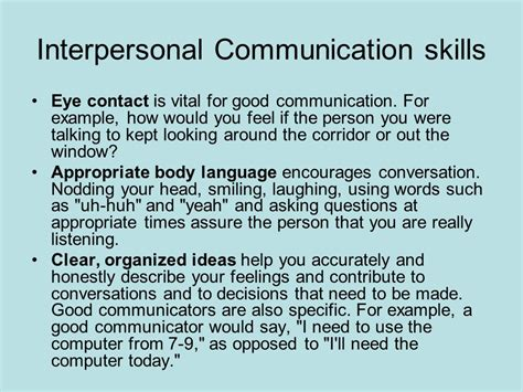 How To Describe Your Communication Skills On A Resume by Helen Stills Professional Development Day Ppt
