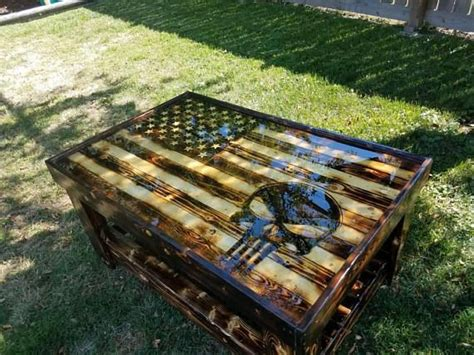 Rustic wood flag coffee table with rustic burnt finish! 20 best Pallets images on Pinterest | Home ideas, Wooden american flag and Woodworking
