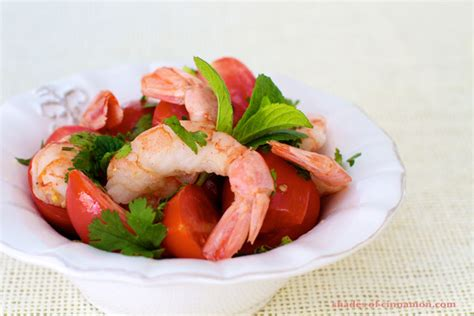 There are four basic components to our thai shrimp salad, and each one. Spicy Thai Shrimp Salad - Shades of Cinnamon