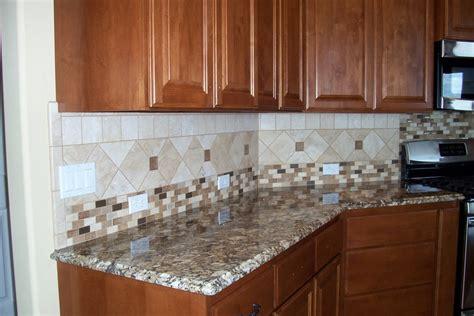 pictures of kitchen tile backsplash kitchen backsplash ideas white cabinets brown countertop