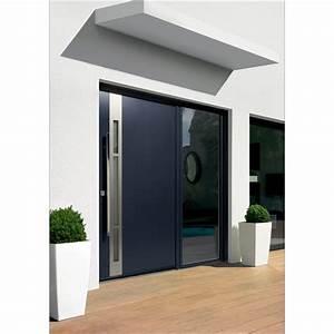 Barre De Porte D Entrée : porte d 39 entr e aluminium kline a la belle fen tre ~ Premium-room.com Idées de Décoration
