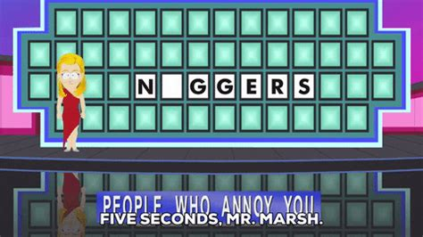 foto de Wheel Of Fortune Racismby South Park Find & Share