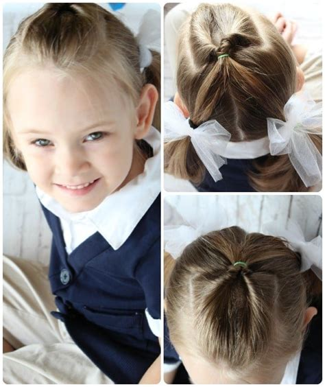 Easy Hairstyles For Little Girls 10 ideas in 5 Minutes