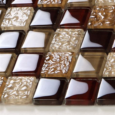 Wholesale Vitreous Mosaic Tile Crystal Glass Kitchen Of