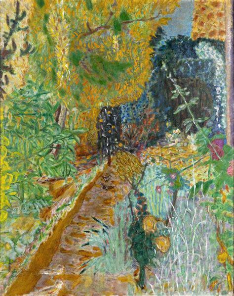 dans le jardin de bonnard un tableau expos 233 au grand palais dans l exposition jardins