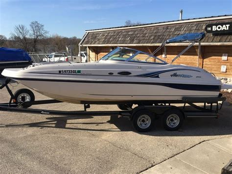 Deck Boat For Sale In Wisconsin by Used Deck Boat Boats For Sale In Wisconsin United States