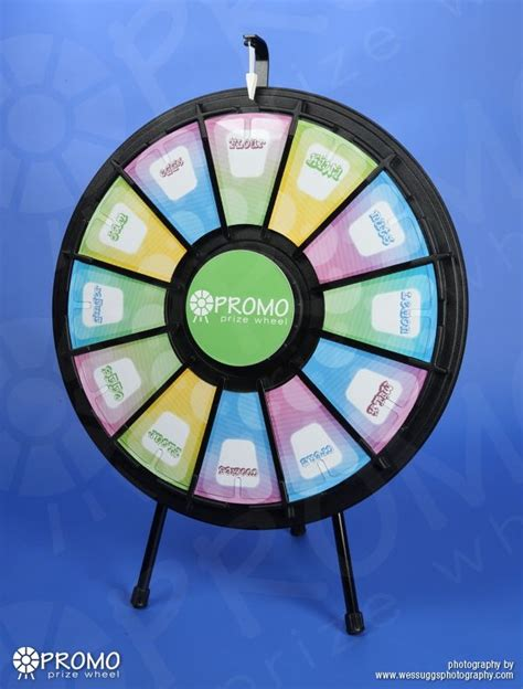 wheel prize wedge table stand wheels fortune spin wedges promo window graphics sticker enlarge win stickers cafe