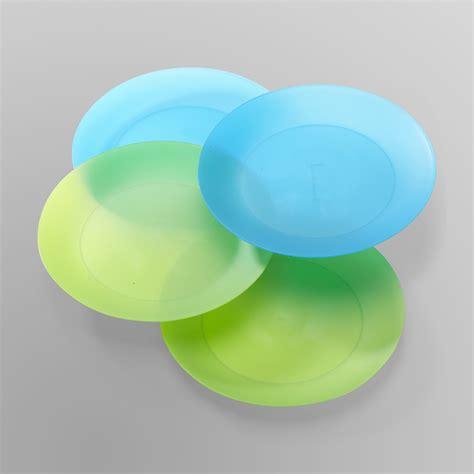dinnerware plastic acrylic plate summer dishware reusable bowl piece