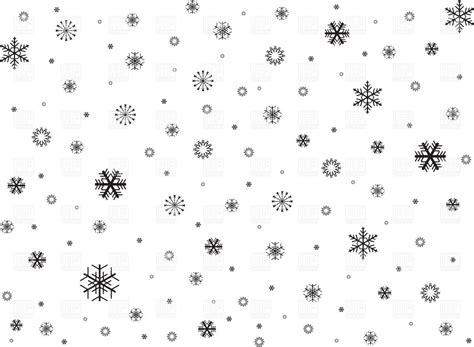 Snowflake Background Black And White by Black Snowflakes Background Vector Image Of Backgrounds
