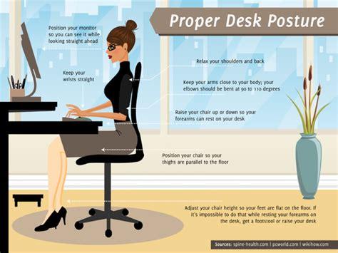 ergonomic sitting at desk office ergonomics atlanta of massage