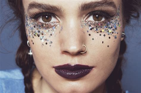 Esszimmer Le Glitzer by In Your Dreams Chunky Silver Glitter Eye