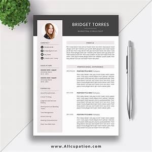 2020 Editable Resume Template  Simple Cv  Modern And