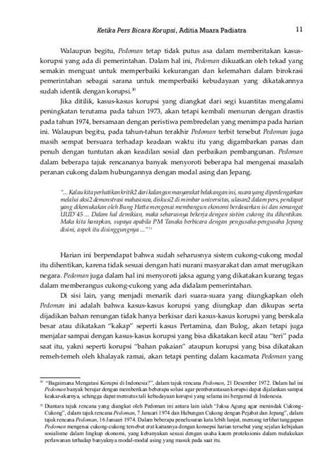 Ketika Pers Bicara Korupsi: Analisis Tajuk Rencana Harian