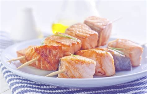 aromatic skewers fish naturaltherapypages wheat carb vegetarian paleo gluten protein low