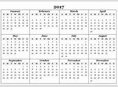 2017 calendar Templates and Printable #2017Calendar #
