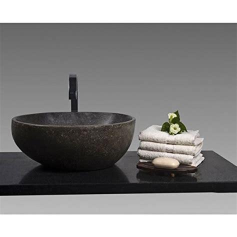 aufsatzwaschbecken rund 28 cm wohnfreuden n naturstein waschbecken 40 cm rund stein aufsatzwaschbecken f 252 r g 228 ste wc bad