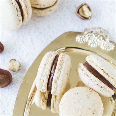 chocolate hazelnut macarons recipe lorann oils