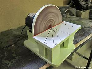 free homemade disc disk sander, woodworking, free tools