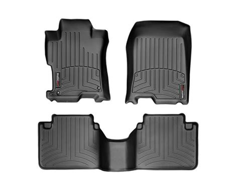 weathertech floor mats honda civic 2017 weathertech honda ridgeline 2017 2018 digitalfit black autos post