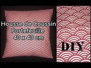 Coudre Une Housse De Coussin : coudre une housse de coussin tuto couture diy youtube tutos couture diy by viny diy ~ Melissatoandfro.com Idées de Décoration