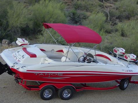 Deck Boat Fish And Ski by 2007 Tahoe 215 Fish And Ski Deck Boat V8