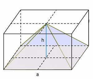 Seitenlänge Berechnen Dreieck : pyramide oberfl che und volumen berechnen ~ Themetempest.com Abrechnung
