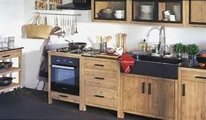 Cuisine Style Industriel Ikea : meuble cuisine industriel elegant meuble de cuisine style ~ Melissatoandfro.com Idées de Décoration