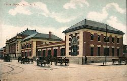Office Depot Near York Pa by Troy New York Vintage Postcards Images