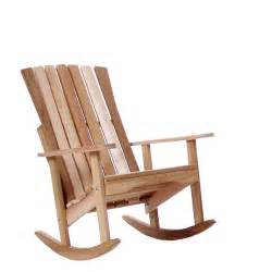 Steamer Garden Chairs by Adirondack Rocking Chairs By All Things Cedar Furniture Patio
