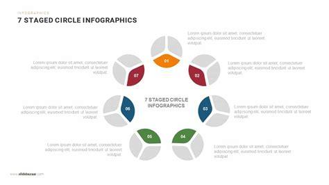 staged circle infographics powerpoint  keynote template slidebazaar