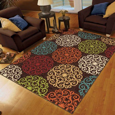 walmart living room rugs orian harbridge woven olefin area rug walmart