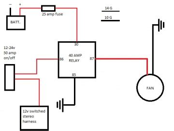 my 2 3 fan relay diagram the mustang source ford mustang forums