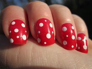 Red Nail Art Designs – Acrylic Nail Designs