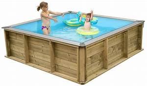 Petite Piscine Hors Sol Bois : la mini piscine une petite piscine conomique et ~ Premium-room.com Idées de Décoration