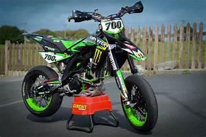 Racing Caf U00e8  Aprilia Sxv 450 Vdb 2007  U0026quot Monster Energy U0026quot  Special