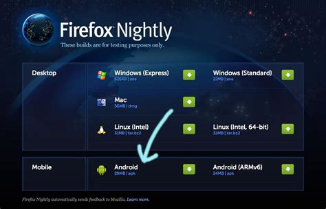 firefox nightly for android now with enhanced bookmark