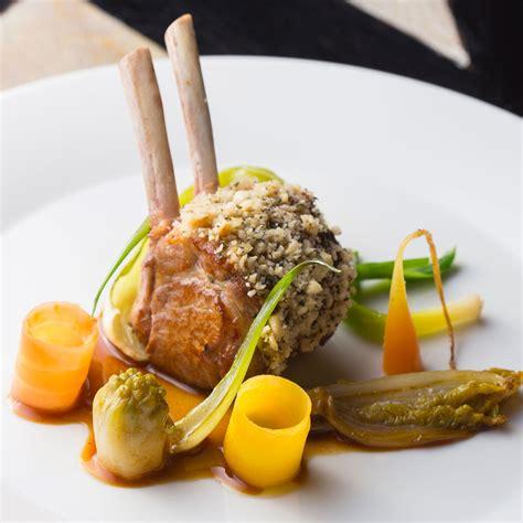 recette cuisine gastronomique carré d agneau légumes de la ferme de l abbé rozier nos