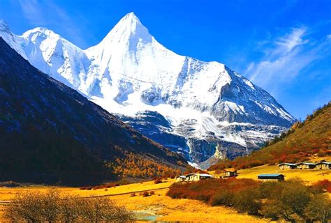 4 Days Chengdu Daocheng Yading Flight Tour, Yading Trip ...