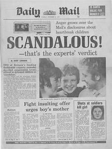 Thalidomide Tragedy 1968 In Photos The High Court Agrees Meagre Compensation