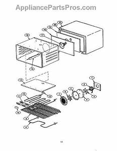 Parts For Thermador Prse304s  Convection Oven Parts