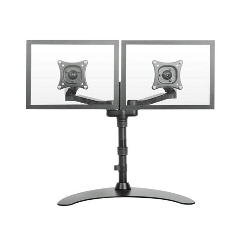 desk mount tv stand aliexpress com buy dual lcd monitor free standing desk