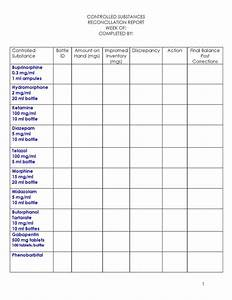 best photos of dental inventory list template office With controlled drug register template