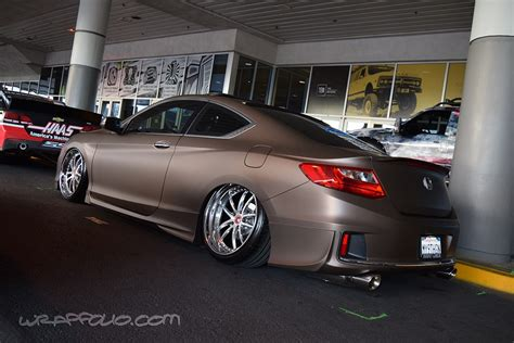 matte brown jeep matte brown metallic honda accord wrapfolio