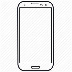 Device, lineart, smartphone, tech, technology icon