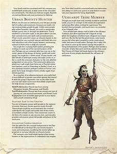 5e backgrounds chart the d d 5e backgrounds dungeons and dragons