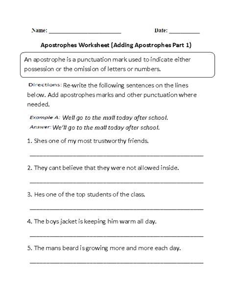 15 Best Images Of Punctuation Worksheets Grade 4  2nd Grade Writing Worksheets Sentences, Free