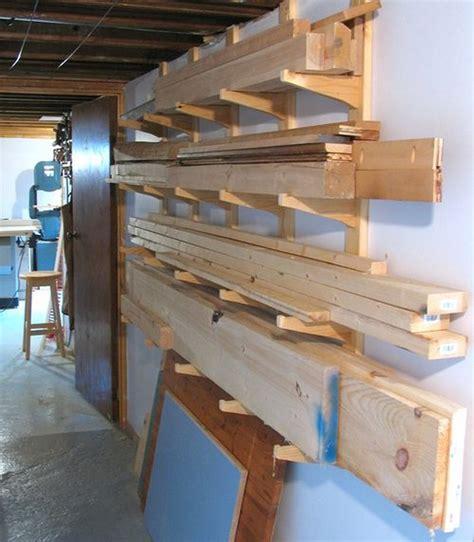 lumber rack ideas diy lumber storage ideas diy do it your self